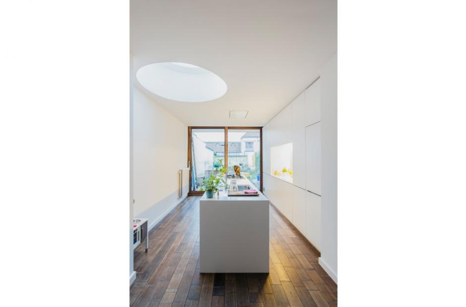 Architect Kleine Woning : Gent renovatie kleine rijwoning projecten tube architecten gent